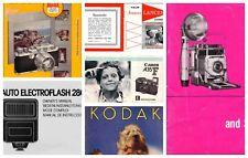 Vintage Camera Manuals , Massive Collection, PDF Files