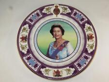 RARE Limited Edition Bone China Display Plate QUEEN'S GOLDEN JUBILEE John Chown