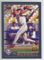2001 Topps Baseball Philadelphia Phillies Team Set