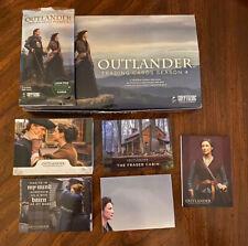 2020 Cryptozoic Outlander Season 4 108-Card Mini Master Set Base + 4 Insert Sets