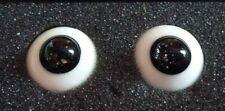 Bjd Glass Eyes black glitter Leeke 14mm Doll Yosd tiny