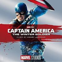 """Henry Jackman """"CAPTAIN AMERICA: THE WINTER SOLDIER"""" Japan CD SEALED Num"""