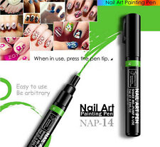 16 Color Women Delicate Beauty Nail Art  Pens Polish DIY Design Manicure Tools