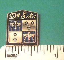 DESOTO HAT PIN LAPEL PIN TIE TAC BADGE #0144