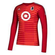 Minnesota United FC MLS Adidas Men's Red AdiPro Long Sleeve Goalkeeper Jersey