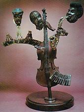 "Paul Wegner      ""Close Enough For Jazz""     Bronze Sculpture      TD"