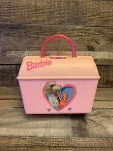 Vintage 1997 Mattel Dr. Barbie Toy Doctor Pink Plastic Kit Case - NO ACCESSORIES