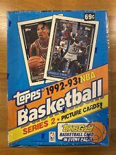 1992-93 Topps NBA FACTORY SEALED Box - Shaq Rookie - Jordan - Shaq & Pippen Box!