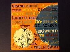 JOE JACKSON~big world A&M 1986 all ORIGINAL 2LP (LPs) Nm / (JACKET) Ex w/ INSERT