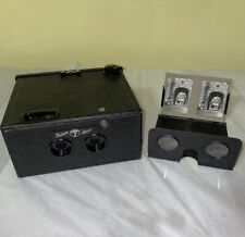 Thornton-Pickard Stereo Puck Camera with viewer Camera