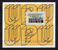 15591) St.Lucia 1981 MNH New Upu Membership - S/S