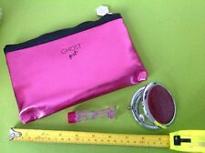 GHOST GIRL PINK 5ml Mini PARFUM perfume gift MIRROR CLUTCH BAG MAKE UP PURSE New