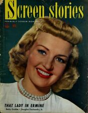 Betty Grable Roy Rogers Donna Reed Alan Ladd Screen Stories Sept 1948