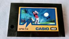 CASIO WORLD OPEN MSX MSX2 Game cartridge tested -a628-