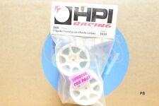 HPI Racing #3556 - 7 SPOKE TOURING CAR WHEELS 26mm WHITE