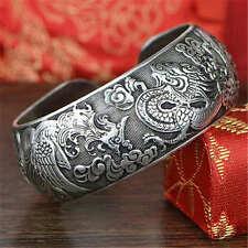 Valknut Dragon Phinex Symbol Viking Warriors Tibetan Silver Charms Bracelets