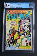 PHOENIX #2 Atlas/Seaboard 1975 Sci-Fi UFO Aliens Superhero TV Movie CGC NM 9.4