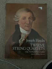 Twelve String Quartets, Opp. 55, 64 and 71, Songbook