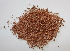 ROSE GOLD/BRONZE Glimmer SPRINKLE MIX 50g Edible Confetti,Pearls & Strand Mix S3