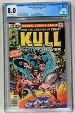 KULL THE DESTROYER #16 CGC 8.0 VF (MARVEL 1976) HIGH GRADE BRONZE AGE