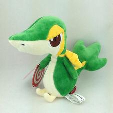 "Snivy Snake Pokemon Grass Type Plush Soft Toy Stuffed Animal Starter of Unova 6"""