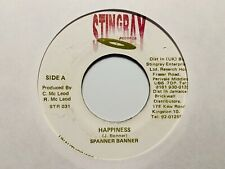 "Spanner Banner ""Happiness"" and ""Mix 2 Version"" Stingray Records Reggae Import"