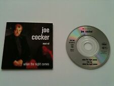 Joe Cocker - WHEN THE NIGHT COMES (6:18/4:12)+1- 3 INCH Mini CD Single © 1989