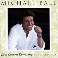 MICHAEL BALL - LOVE CHANGES EVERYTHING: THE COLLECTION USED - VERY GOOD CD