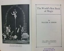 The Worlds Best Book of Magic by Gibson, Walter