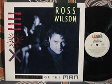 ROSS WILSON Dark Side Of The Man 1989 Oz LP Daddy Cool, Pink Finks, Mondo Rock