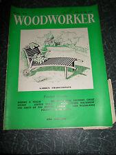 WOODWORKER April 1958 ~ Retro Vintage Illustrated Magazine + Advertising