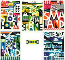 """Lots 5 IKEA KORT Art Cards  4"""" x 6""""  -- New in package --From CA"""
