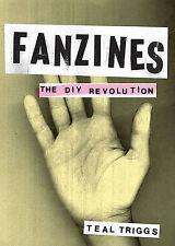 Fanzines: The DIY Revolution by Teal Triggs BOOK Punk Rock Art