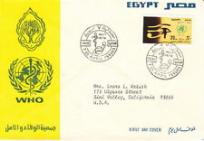 1976 Egypt Fdc Cachet Cover - World Health Organization