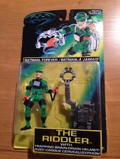 Batman Forever The Riddler Trapping Brain Drain Action Figure, Kenner MOC Sealed
