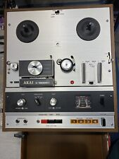 ✅Akai X-1800SD Reel to Reel & 8 Track Tape Recorder, Instructions & Demagnatizer