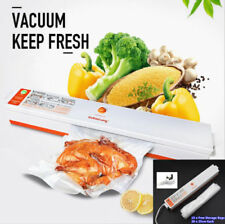 Food Vacuum Sealer Machine For Home Kitchen Storage Packing & 15 Bags Free