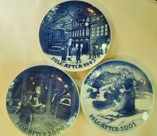 Lot of 3 ~ Bing & Grondahl Christmas Plates~ 1993, 2000, 2001