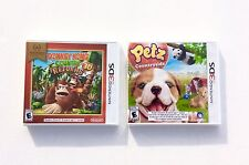 Donkey Kong Country Returns + Petz Countryside  Nintendo 3DS  NEW   B1