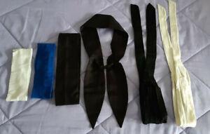 6er Pack Haarband Haartücher Haarschmuck Stirnband Stretch breit