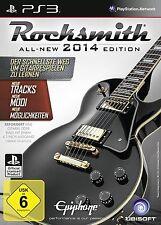 ROCKSMITH 2 2014 14 CABLE REAL TONE EDITION TEXTOS EN CASTELLANO NUEVO PS3
