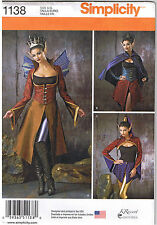 Dark Faeries Fairy Wings Elf Costume Simplicity Sewing Pattern Size 6 8 10 12