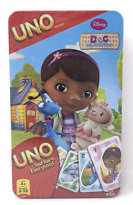 Disney Doc McStuffins Uno Card Matching Game Cardinal In Tin New Sealed Rare