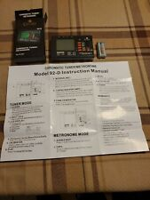 Cecilio Chromatic/String Tuner with Metronome ~Tm_92-D All In One