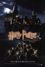 "HARRY POTTER PHILOSOPHER'S STONE Poster [Licensed-New-USA] 27x40"" Theater Size"