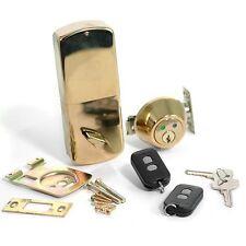 RF - Remote Controlled Wireless Door Lock DEADBOLT- BF