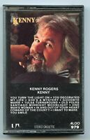 Kenny Rogers 1979 Cassette Tape 4LOO 979 Liberty Records - BP757