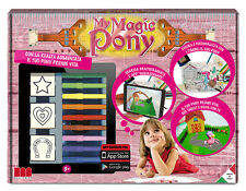 GIOCO INTERATTIVO TAMAGOTCHI CON TIMBRI E COLORI MY MAGIC PONY FANTASY STAMPS