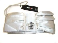 W380 Style & Co. 'Cassie' Women's Silver Mini Evening Handbag Purse
