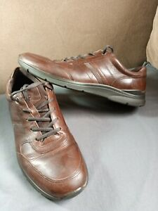 Ecco leather expensive Shoe size Uk11/45  in ex con(got another pair in listing)